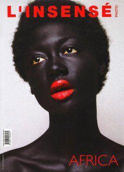 تمایز یک رنگ در طرح جلد مجله