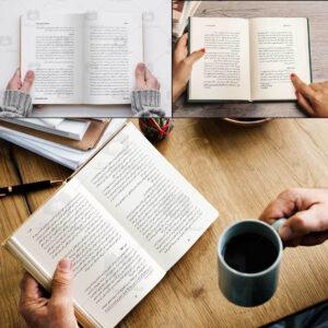 نمونه کارهای صفحهارایی کتاب ساده